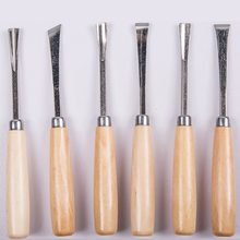 Multifunctional Cutter Set Wood Tool Woodworking Hand Carving Knife Carving Chisel Carpenter's Workshop Dropshipping 6 Pieces(China)
