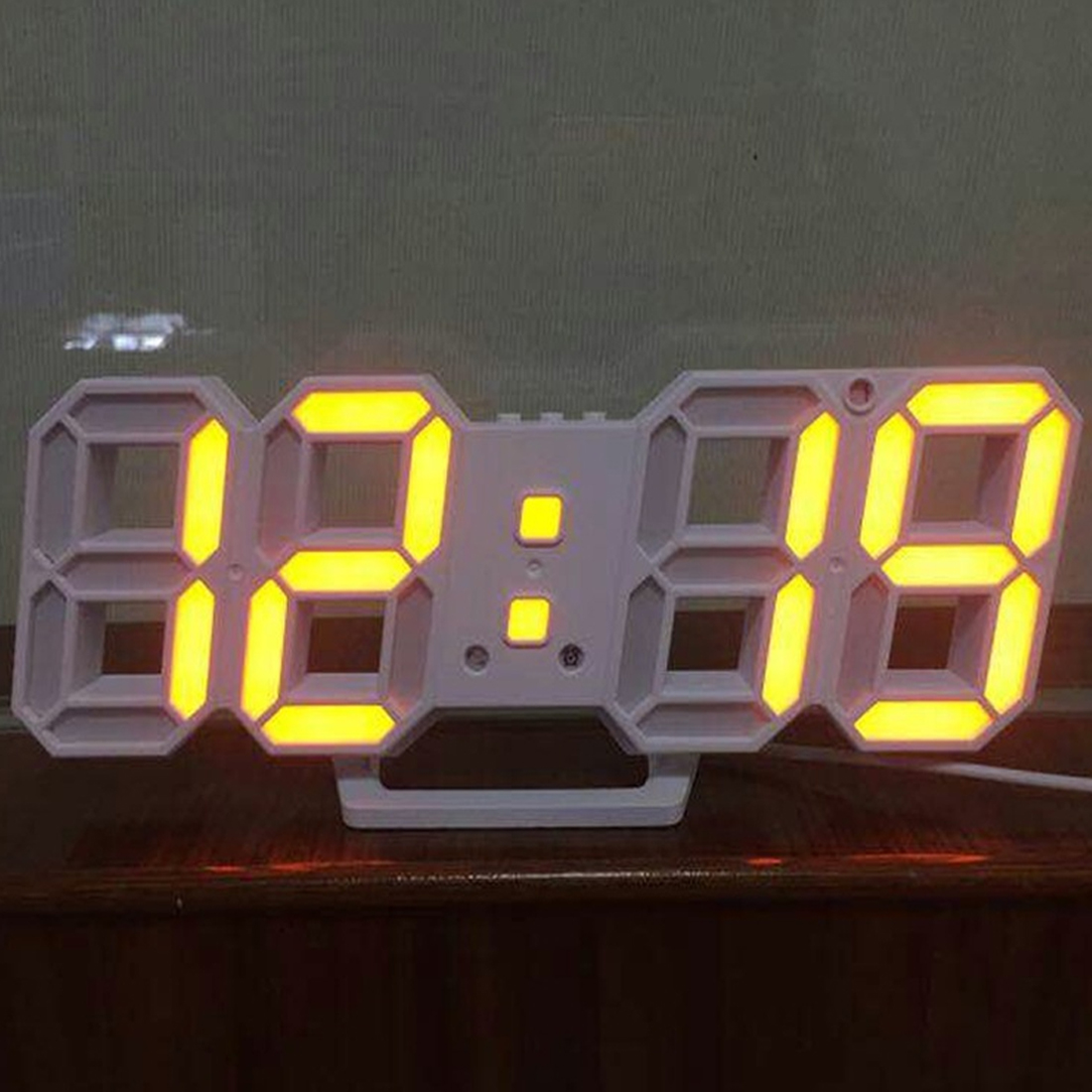 Modern Digital Clock Led Table Clock Watches 24 Or 12 Hour