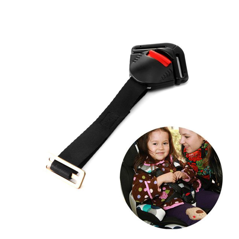 Car Safety Seat Clip Fixed Lock Buckle Safe Belt Strap Harness Chest Clip Buckle Latch Clamp for Kids Baby Toddler Children