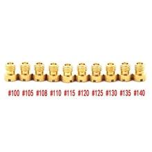 Основной струи для PWK Keihin OKO ЦВК карбюратор 100 105 108 110 115 120 125 130 135 140