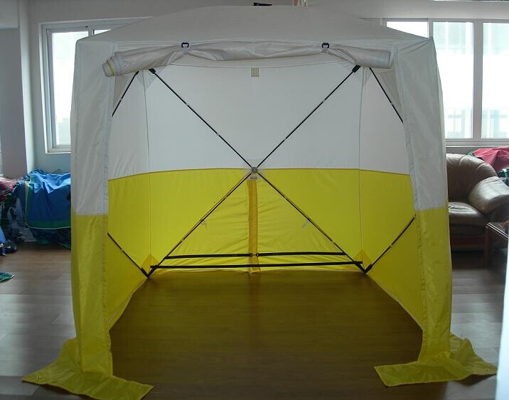 Hub tent working tent civil engineering pop up waterproof Outdoor construction tent 220x220x220cm-in Tents from Sports u0026 Entertainment on Aliexpress.com ... & Hub tent working tent civil engineering pop up waterproof Outdoor ...
