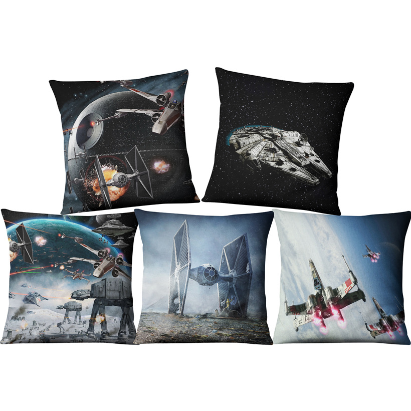 8ca4ec696 Detail Feedback Questions about Drop Shipping Sketch Movie Star wars Home  Chair Seat Decorative Throw Pillowcase Almofada Cojines on Aliexpress.com  ...
