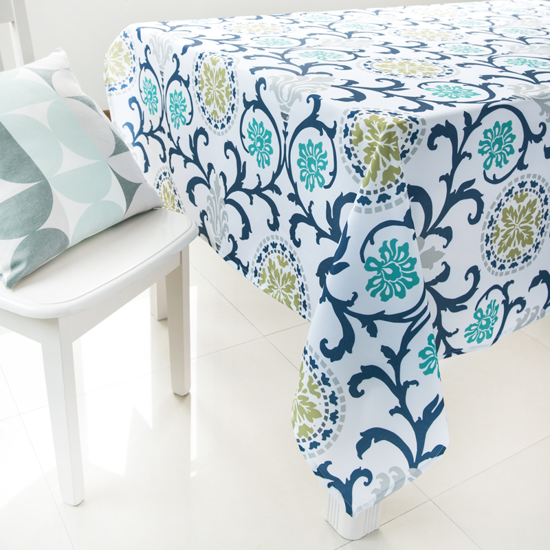 Aliexpresscom Buy Floral Table Cover Dining Table Cloth Multi