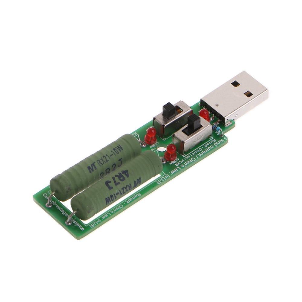 USB Widerstand Elektronische Last Mit Schalter Einstellbar 3 Strom 5 ...