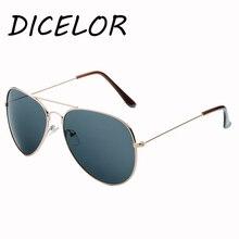 DICELOR Marca gafas de Sol Polarizadas Mujeres Semi-Sin Montura de Metal Marco Del Espejo Recubrimiento de Doble Vigas Gafas Unisex gafas de sol mujer
