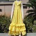 Envío gratis! summer niñas niñas quatrefoil vestido de algodón lindo vestido maxi girls del vestido del bebé KP-MR10