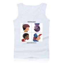 Stranger Things Fashion Tank Top Mens Hip Hop and Stranger Things Sleeveless Shirts Summer Vests Plus Size