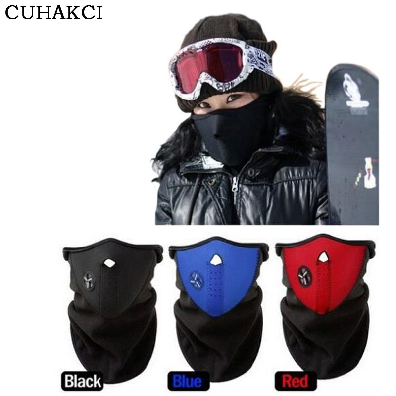 CUHAKCI 2017 Winter Heating Neck Fleece Hat Headwear Winter Skiing Ear Windproof Face Mask Motorcycle Bicycle Scarf cuhakci 2017 winter heating neck fleece hat headwear winter skiing ear windproof face mask motorcycle bicycle scarf