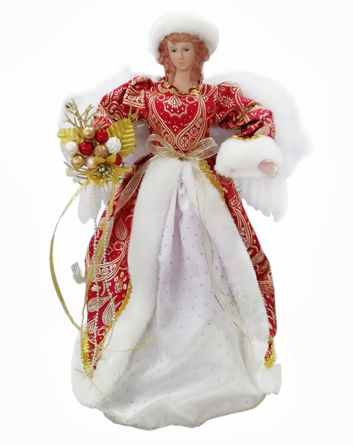Cosette Collect Christmas Angel Decor Candy Storage Box Zipper Wings Bowknot 16