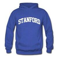 Mens Fashion Cotton Stanford Pullover Hoodies Cotton Stanford Logo Sweatshirts Hoody Pullover Casual Warm Hoodies