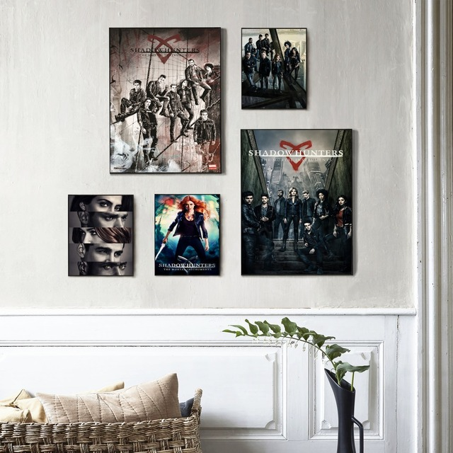 Canvas Prints For Living Room Rattan Chair Shadowhunters The Mortal Instruments Modern Painting Posters Wall Art Pictures Decoration No Frame