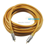 HIFI EXQUIS CS161 Digital/Analog Coaxial RCA Cable for also Bass Signal Transmission