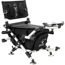 Folding, Transportable, Multifunctional Fishing Chair With Telescopic Toes, Double Shoulders, Horse Again, Mild Fishing Stool.
