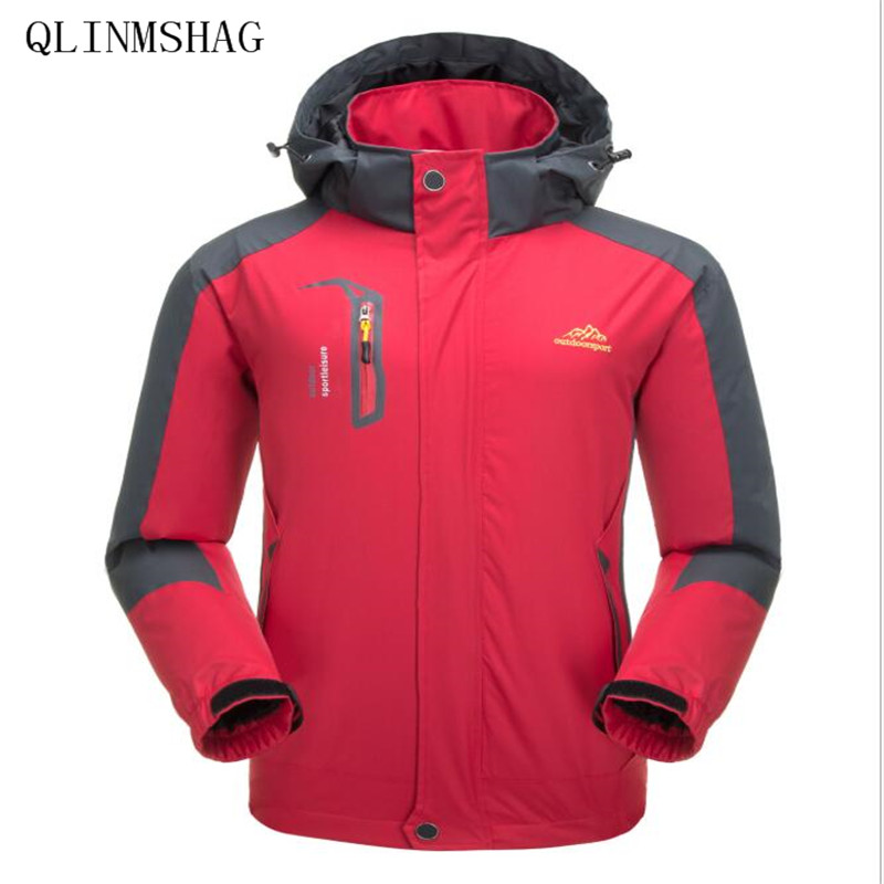 QLINMSHAG 2019 Males's Jackets Waterproof Spring Hooded Coats Males Girls Outerwear Military Strong Informal Model Male Clothes Jackets, Low cost Jackets, QLINMSHAG 2019 Males's Jackets Waterproof Spring Hooded Coats...