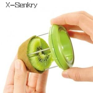 Reka bentuk kreatif mudah dibersihkan artifak kupas kiwi buah peeler kiwi segmentasi pemotong buah