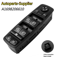 1698206610 Front Left Driver Window Master Switch For Benz A B Class W169 W245 2004 2012 A1698206610