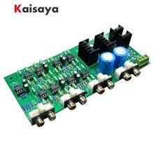 Novo 3 vias crossover pcba classa power linkwitz riley filtro 6 canais ponto de cruzamento 310 hz/3.1 khz frete grátis G1 004