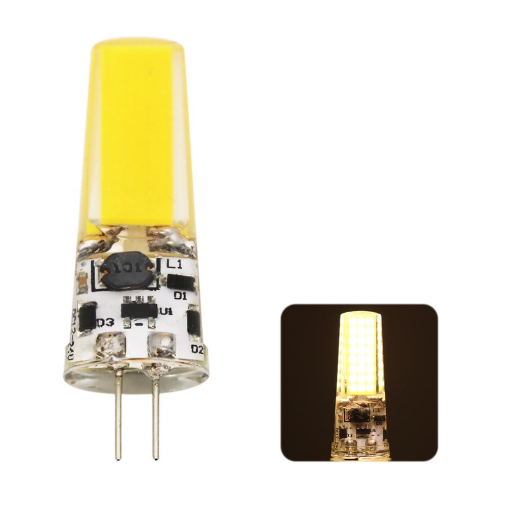 LED G4 Lamp Bulb AC/DC Dimming 12V 220V 9W COB SMD LED Lighting Lights Replace Halogen Spotlight Chandelier