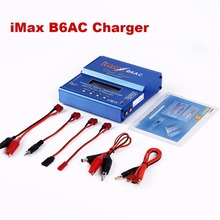 RC Lipo Charger iMax B6AC For RC Car/Helicopter 2S-6S Lipo Battery Balance Charger + EU/US/UK/AU plug power supply wire