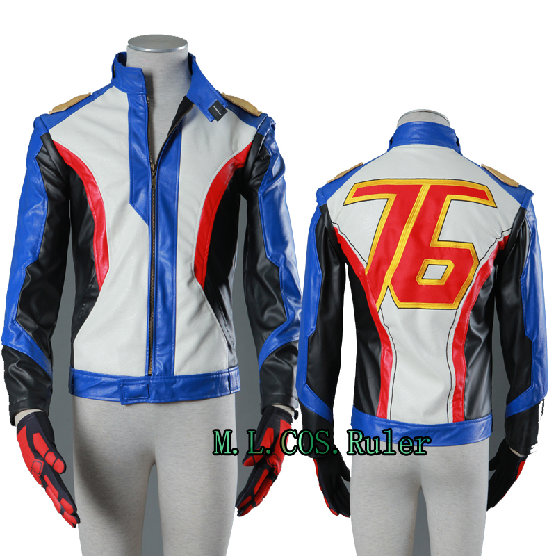 Hot Cakes Soldier 76 Cosplay Costume Boots Game Shoes Holloween Custom Size