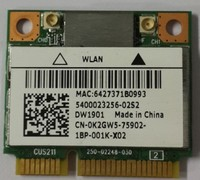 Atheros DW1901 MINI PCI E 300Mbps Wlan WIFI Wireless Bluetooth 4 0 Card For DELL Inspiron