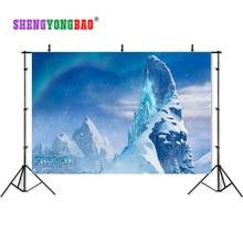 SHENGYONGBAO 7x5ft Frozen theme Vinyl Custom Photography Backdrops Prop Muslin Background BX-171