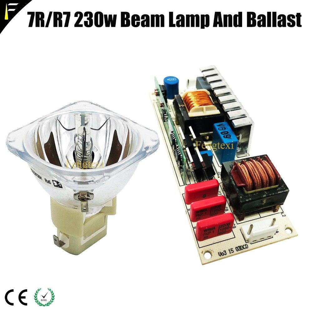 מקורי 230W sharpy קרן מנורת 7R הזזת ראש אור עם נטל P vip 180/230w 1.0 e20.6) החלפת Hri Sirius מנורת 230