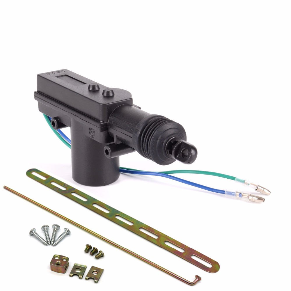 2018 New Universal Car Auto Heavy Duty Power Door Lock Actuator 2 Wire Wiring Motor Professional Wires 12v