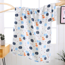 Bamboo Cotton Baby Blankets Swaddle Wrap Babies Bedding Kids Bath Towel Receiving Blanket 120*150cm