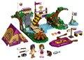 BELA Друзья Серии Лагерь Приключений Рафтинг Строительных Блоков Классический Для Девочки Дети Модель Игрушки Marvel Совместимость Legoe