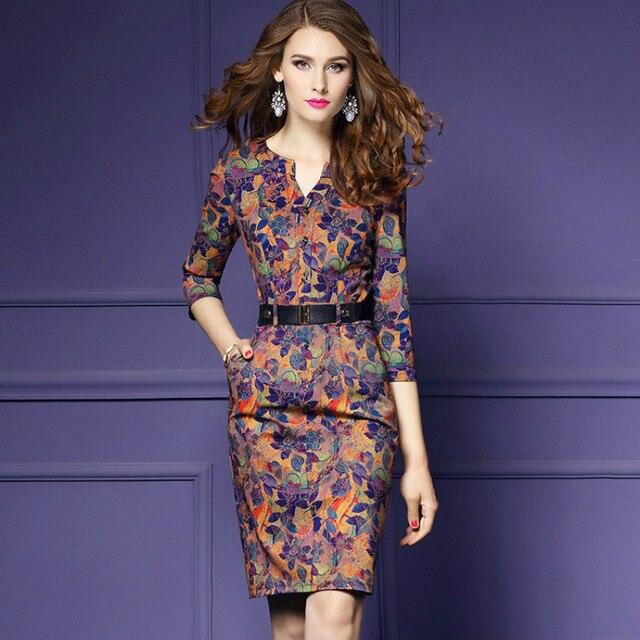 H 2018 Fall Trendy Social Dress Woman Bodycon Dress Noodles Vintage Luxury Wrap  Midi Dress Women Clothes Chic Clothing 3XL 58b27a68165f