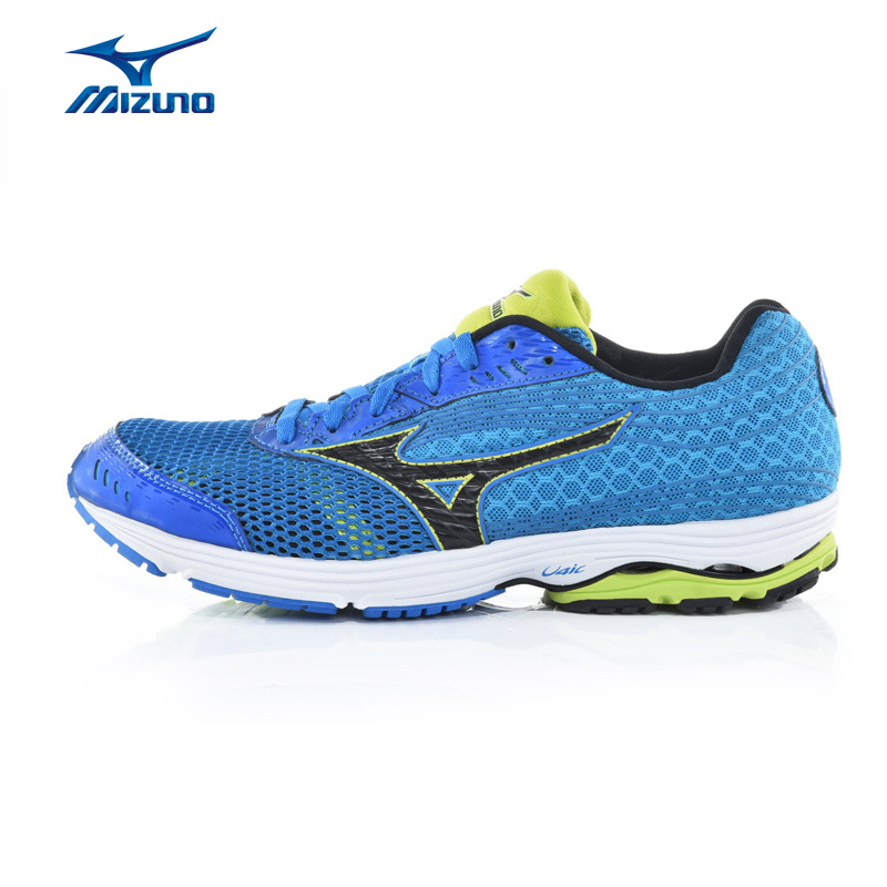 MIZUNO Men WAVE SAYONARA 3 Mesh Breathable Cushioning Stability Jogging Running Shoes Sneakers Sport Shoes J1GC153040 XYP323 2017brand sport mesh men running shoes athletic sneakers air breath increased within zapatillas deportivas trainers couple shoes
