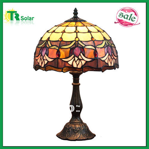 Tiffany Table Lamp European-Style Retro Chinc Resin Light Bedroom Coffee Shop Studying room Free Shipping