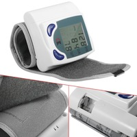 Arm Blood Pressure Monitors Heart Beat Rate Pulse Measure Meter Sphygmomanometer Digital LCD Wrist Cuff Health Care Machine