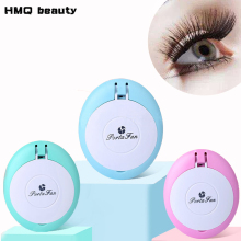 USB-ögonfransförlängningsverktyg Mini Fan Air Eyelash Dryer Air Blower Lim Fast Dry Grafted Eyelashes Dedicated Dryer Makeup Tool
