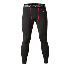 Men's Compression Pants Quick Dry Black Leggings