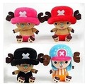 10pcs/lot Genuine Chopper doll Piece pendant cute plush toy with suction cups small pillow Collector's Edition shipping