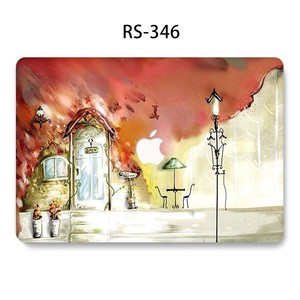 Image 4 - Flower Painted Laptop Funda for MacBook Air Pro 13 15 11 inch Full Cover Hard Case for Macbook Retina 12 inch A1932 A1286 Coque