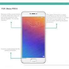 Vidro temperado Para Meizu 6 Pro Pro6 Vidro Protetor De Tela Do Telefone Móvel de Alta Qualidade Acessórios de Proteção Frete Grátis