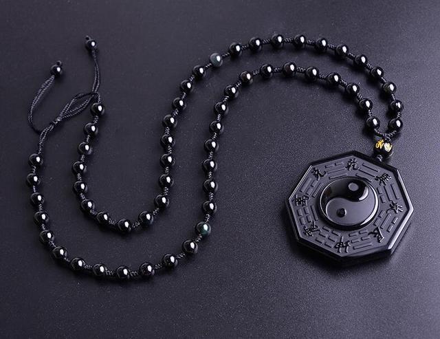 Кулон Инь-Янь натуральный камень 1