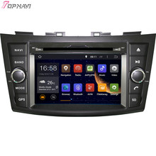 "Topnavi 7"" Quad Core Android 6.0 Car DVD Play for SUZUKI SWIFT 2011- Autoradio GPS Navigation Audio Stereo"