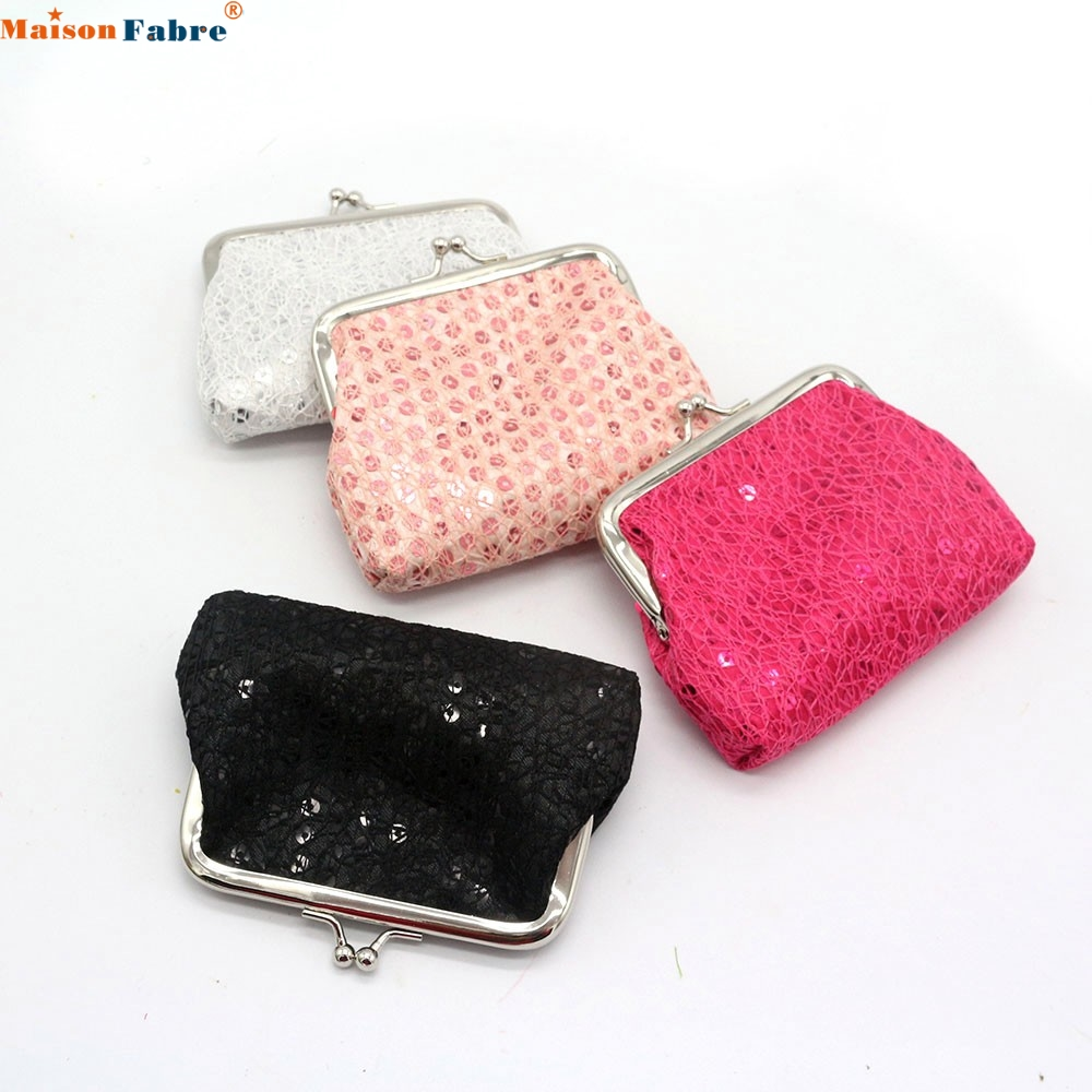 Maison Fabre Jasmine 12X9cm Womens Sequin Wallet Card Holder Coin Purse Clutch Handbag Bag Dec30 drop shipping sif womens small sequin wallet card holder coin purse clutch handbag bag agu 16