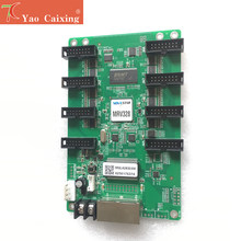 Novastar MRV328 contrôleur réception carte hub75 ports contrôle 256x256 pixels résolution écran d'affichage led