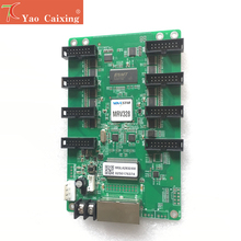Novastar MRV328 בקר receving כרטיס hub75 יציאות שליטה 256x256 פיקסלים רזולוציה led תצוגת מסך