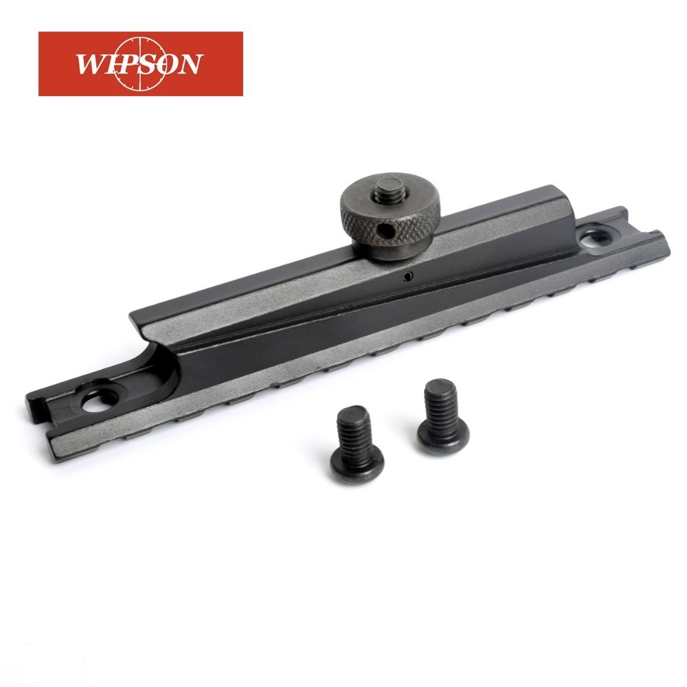 WIPSON Tactical Rail Mount 12 Slots WEAVER Scope Mount Base 20mm Scope Base AR For M4 / M16 Carry Handle Flat Top Rail Hunting C