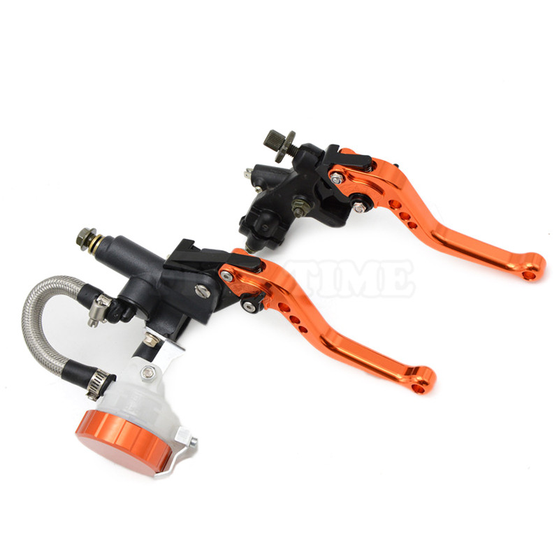ФОТО motorcycle CNC Aluminum Adjustable brake clutch lever& brake pump  For YAMAHA R6S CANADA VERSION 2007 2008 2009