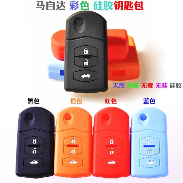 Multicolour MAZDA силикагель ключ бумажник MAZDA 2 3 5 MAZDA 6 лошадь 6 ключ крышка