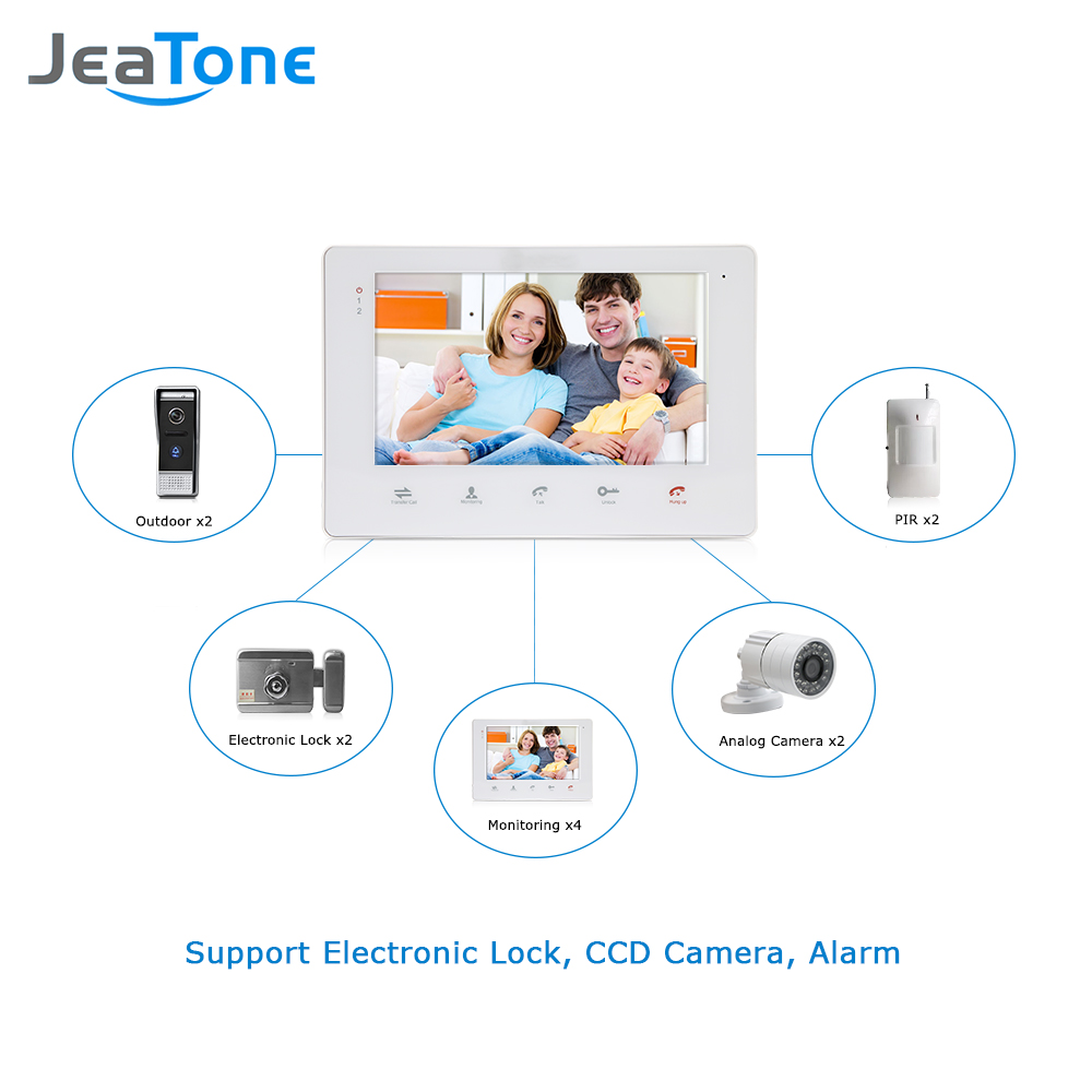 X2 Intercom Wiring Diagram Wire Center Apartment Jeatone Villa Wired Video Doorbell Door Phone Bell Rh Aliexpress Com Aiphone Pacific System