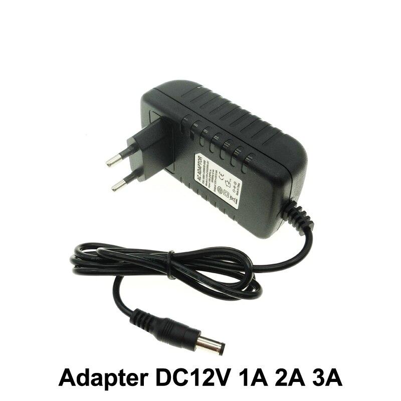DC12V Adapter AC100-240V Beleuchtung Transformatoren LÖSCHTE DC12V 1A/2A/3A Netzteil für LED Streifen.