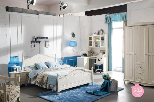 Slaapkamer Meubels Wit : B moderne thuis slaapkamer meubels koreaanse stijl pastorale